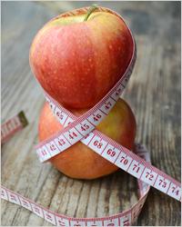 Яблоки  - Диета для похудения живота
