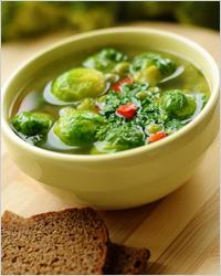 Овощной суп - Легкие диеты