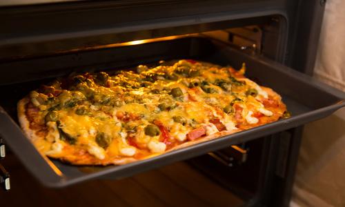 как готовить пиццу на протвине