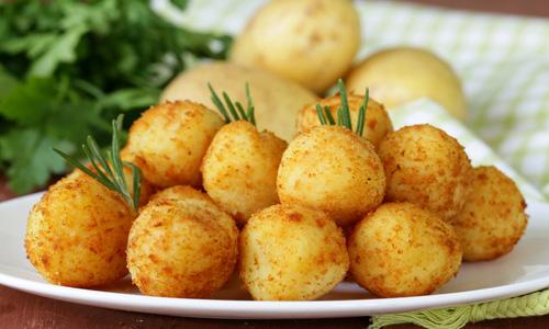 Картофельные крокеты