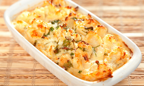 Baked cauliflower - Quick recipes for each day