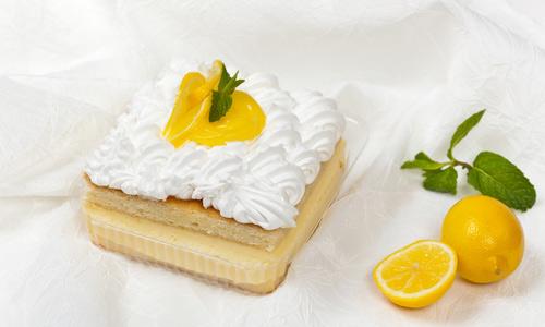 Лимонный пирог со сметанным кремом