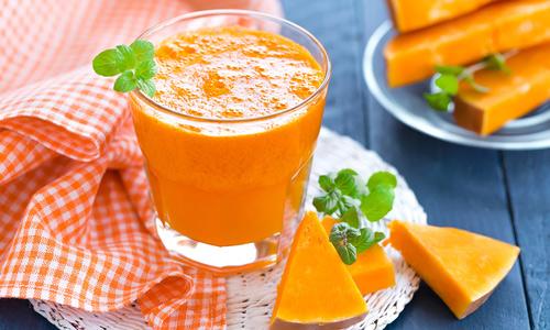 Домашний сок из тыквы