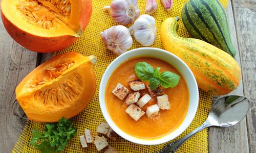 Тыквенный крем суп с молоком рецепт