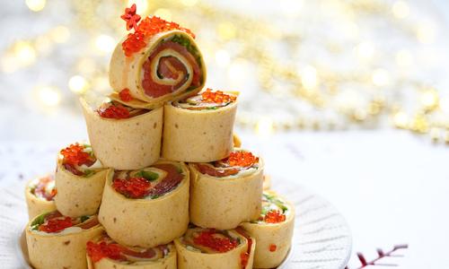Украшение новогодних блюд 2016