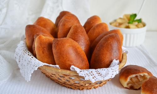 Пирожки из сухих дрожжей в духовке рецепт с пошагово в