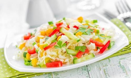 Салаты из свежей капусты – Рецепты салатов из капусты