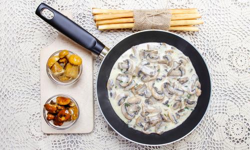 Рецепты соусов с грибами