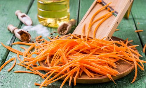 Заготовка моркови по-корейски