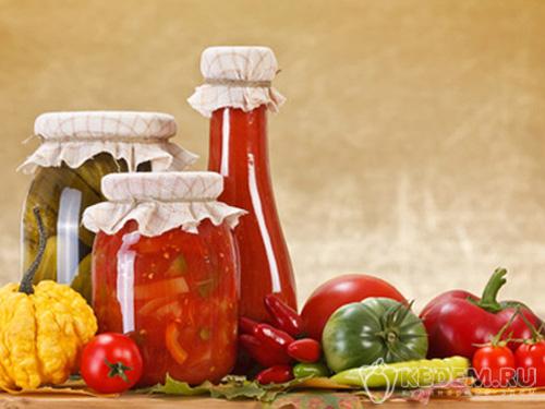 рецепты салатов из овощей на зиму из помидоров
