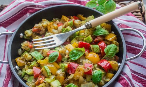 рецепты приготовления рагу из овощей баклажан кабачков и др