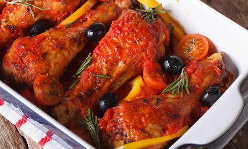 Домашний соус для курицы