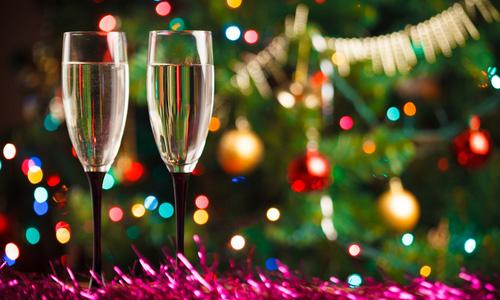 Напитки алкогольные новогодние