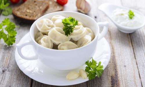 Delicious homemade ravioli