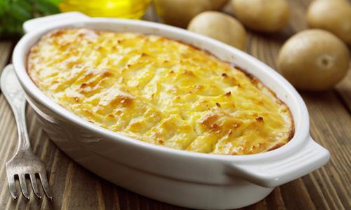 Картошка с фаршем в духовке – Рецепты картошки с фаршем в духовке