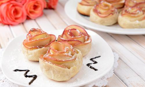 Пирожные на 8 марта