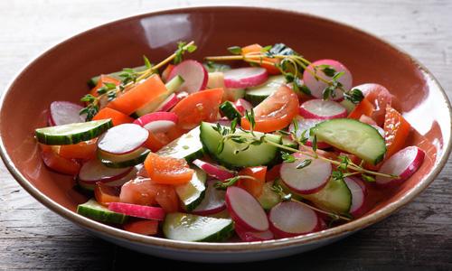 Вкусные весенние салаты