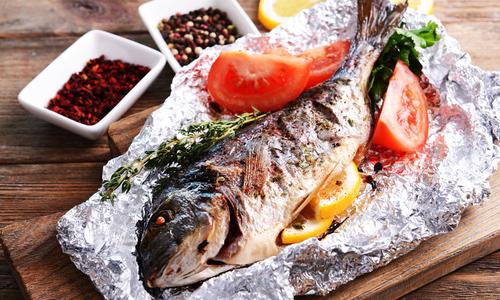 рыба в рукаве для запекания рецепт