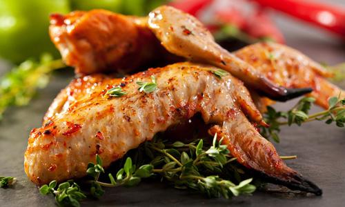 Шашлык из курицы в горчичном маринаде