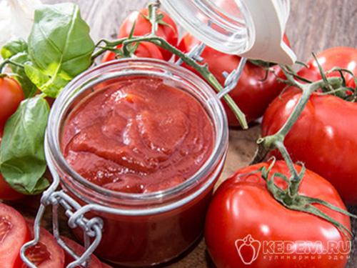 рецепт томатную пасту на зиму
