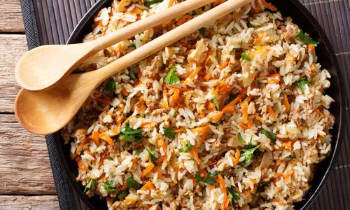 Рецепты риса с фаршем