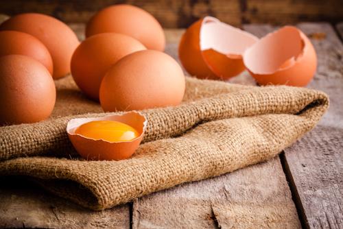 Яйца сырые