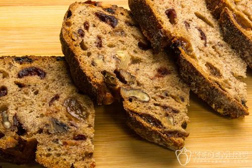 Постный хлеб с изюмом