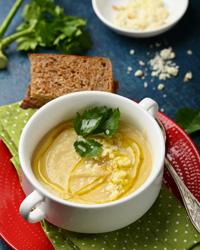 Суп из сельдерея с рыбой