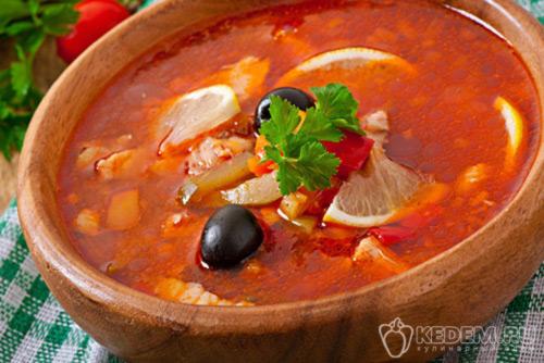 Суп солянка классическая