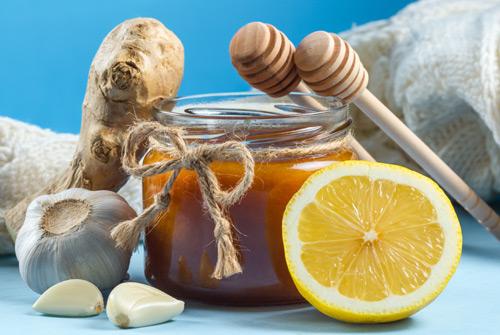 мед чеснок имбирь