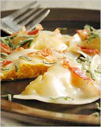 Равиолли, Итальянская кухня