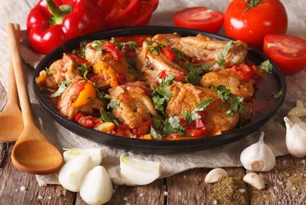 рагу из курицы и овощей в мультиварке рецепты