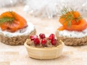 Закуски на новогодний стол (паштеты, рулеты, закусочные торты)