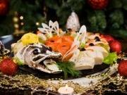 Украшение новогодних блюд