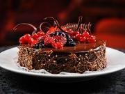 Украшение тортов шоколадом