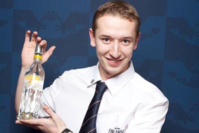 Кшиштоф Ратнау стал победителем XIV международного конкурса барменов Finlandia Vodka Cup