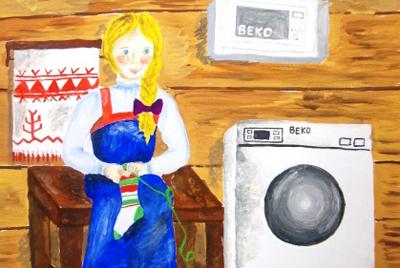 В феврале компания БЕКО определила победителей конкурса детского рисунка