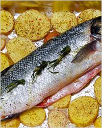 Блюда из рыбы в духовке