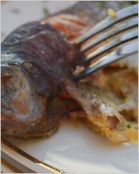 Рыба в духовке по-восточному