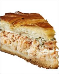 Быстрый рыбный пирог
