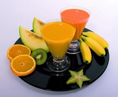 Согласно мнению немецких экспертов, фруктовые напитки для детей...