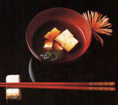 Полезные продукты из японского ресторана