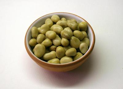 Толстые бобы солить после приготовления