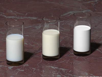 Утренняя порция молока придает чувство сытости