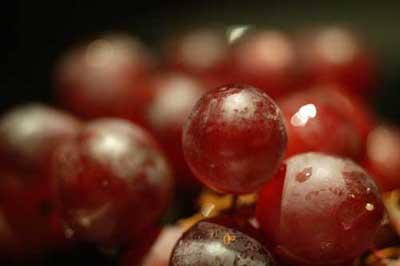 Виноград - идеальная закуска