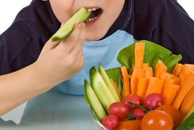 Соус делает овощи для детей более