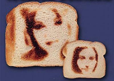 Портрет на тостах