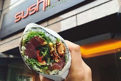 Суширрито – новый тренд быстрого питания