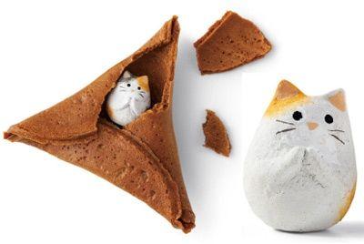 В Японии выпустили печенье с котиками