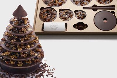 Шоколадный конструктор-ёлка
